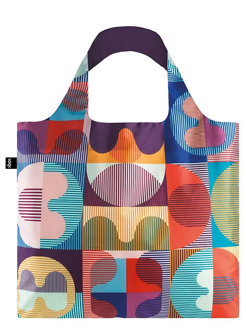 Grid Reusable Tote Bag