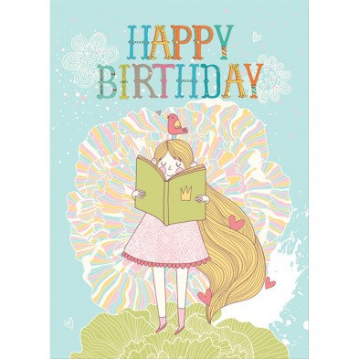Storybook Birthday Card