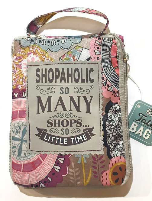 Shopaholic - Reusable Tote Bag