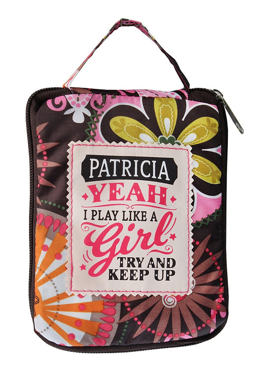 Fab Girl Reusable Tote Bag - Patricia