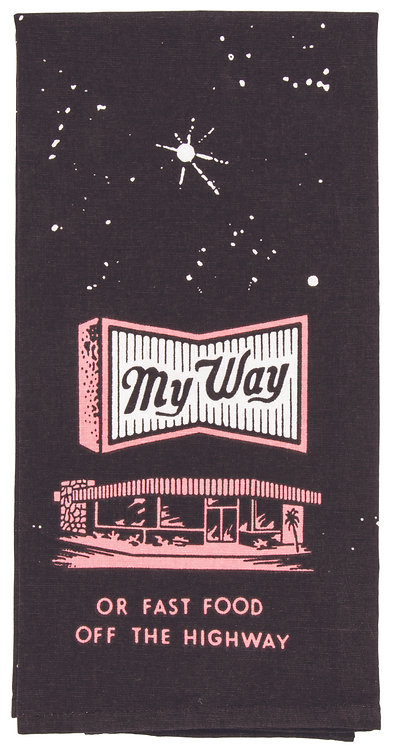 My Way Dish Towel
