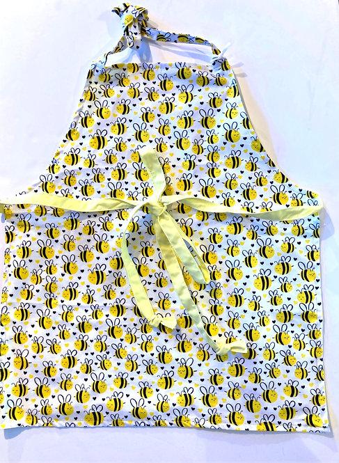 Bee Happy - Handmade Kid's Apron