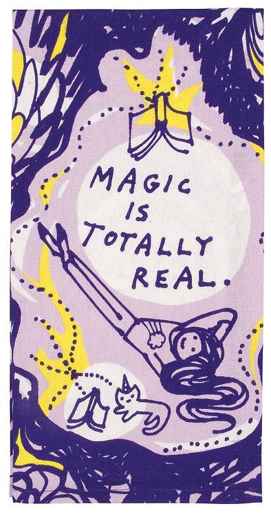 Magic is Real Dish Towel