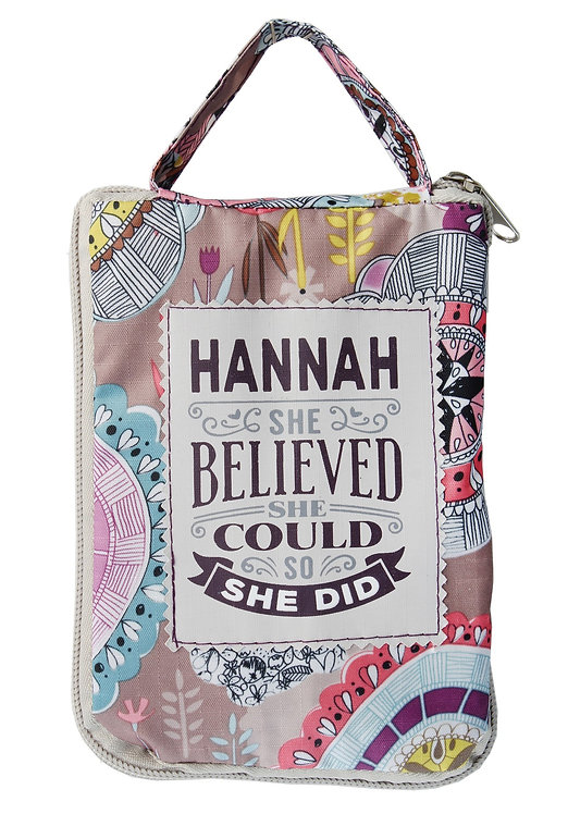 Fab Girl Reusable Tote Bag - Hannah