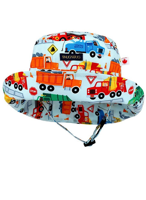 Snug as a Bug Big Rigs Adjustable Sun Hat front