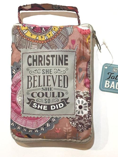 Christine - Reusable Tote Bag
