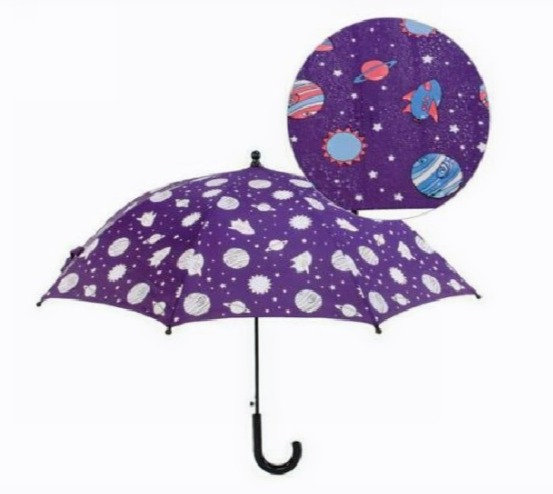 Colour Changing Umbrella - Outer Space