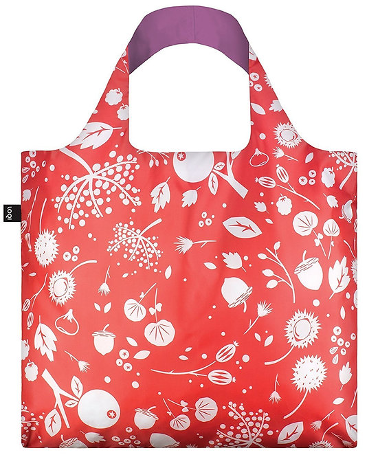 Loqi Reusable Tote Bag - Coral Seeds
