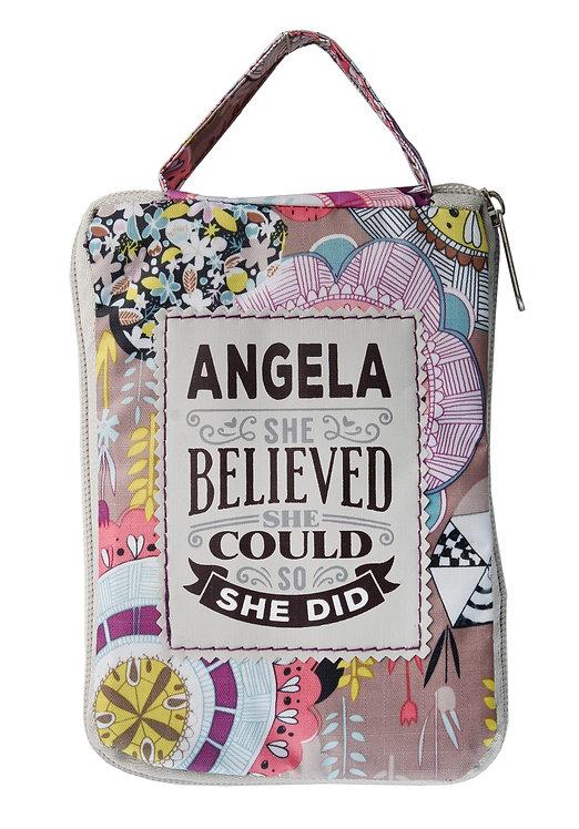 Fab Girl Reusable Tote Bag - Angela