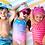 Children wearing Flapjack Kids Kids Ball Caps