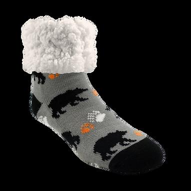 Black Bear Classic Pudus Slipper Socks
