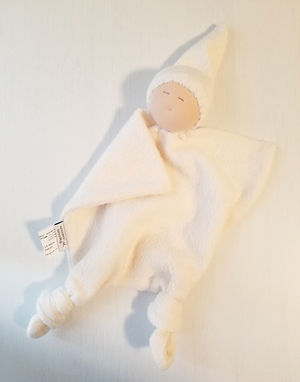 Bamboo Baby Doll Blankie