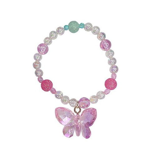 Great Pretenders Fancy Flutter Bracelet pink