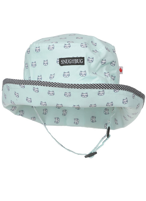 Snug as a Bug Whiskers Sun Hat front view