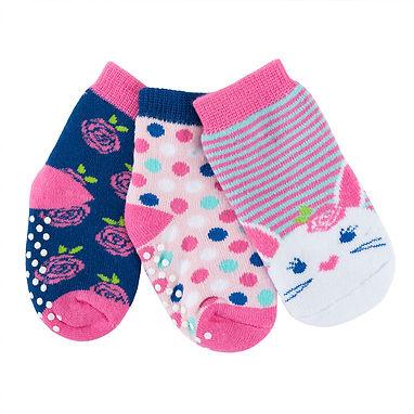 Beatrice the Bunny 3 Pair Sock Set