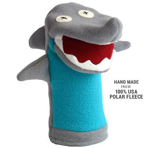 Softy Shark Hand Puppet