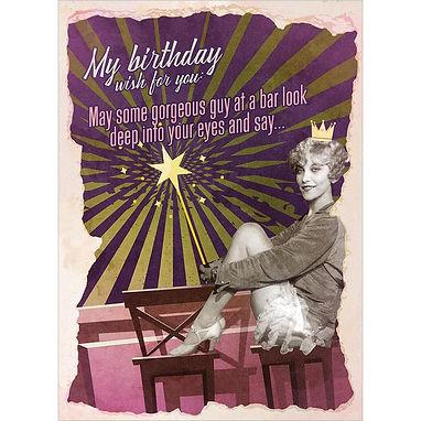 Birthday Wish Birthday Greeting Card