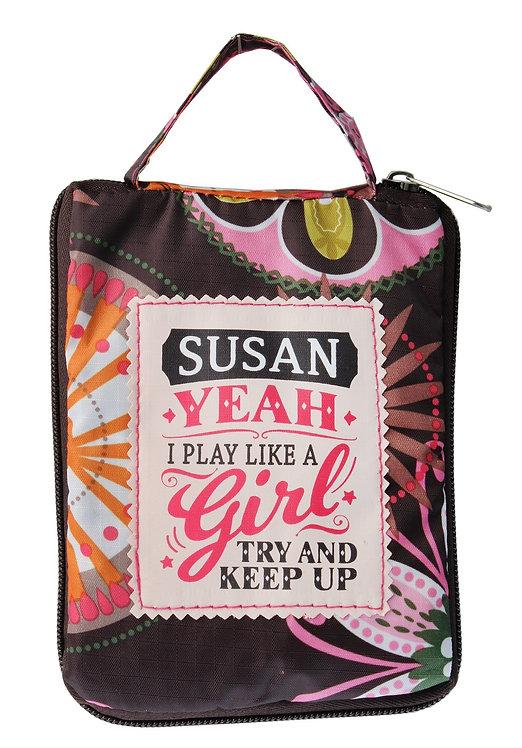 Fab Girl Reusable Tote Bag - Susan