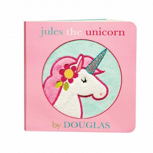 Douglas Toys Jules the Unicorn Board Book cover