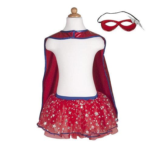 Superhero Tutu, Cape & Mask Set