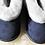 Thumbnail: Unisex Sheepskin Slippers -Denim