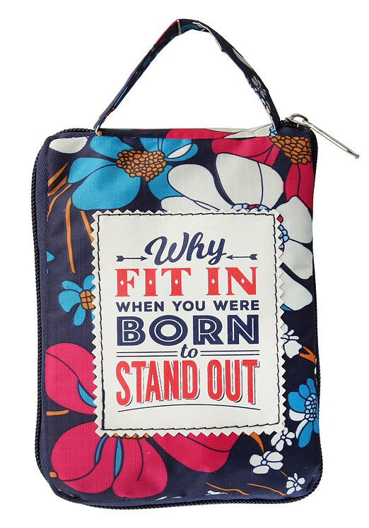 Fab Girl Reusable Tote Bag - Why Fit In
