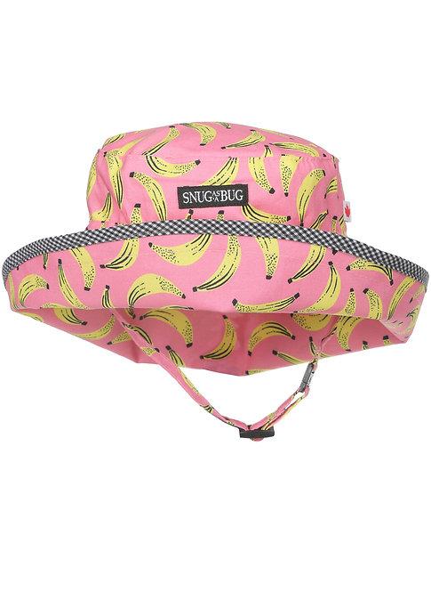 Snug as a Bug Bananarama Adjustable Sun Hat front view