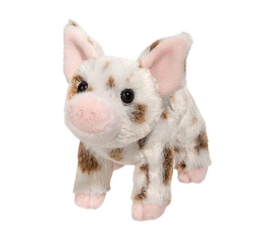 Douglas Toys Yogi Pig stuffed animal, brown & white