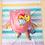 child wearing Flapjack Kids 2 in 1 Mermaid / Seahorse Reversible Baby & Kid Sun Hat