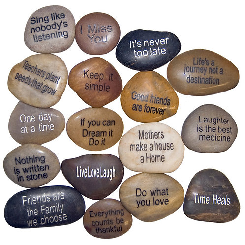 Nature's Expression Inspiration River Stones collection 2