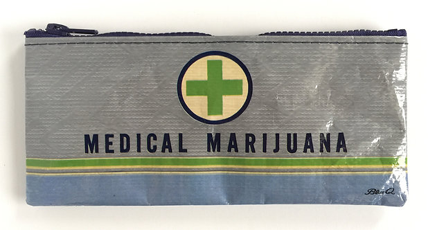 Blue Q Pencil Case - medical marijuana