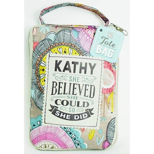 Fab Girl Reusable Tote Bag - Kathy