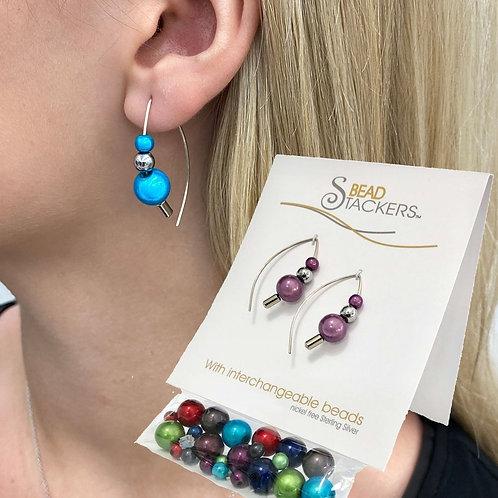 Moon Glow 6  Interchangeable Earrings