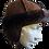 Thumbnail: Kids' Sheepskin Hat - Brown