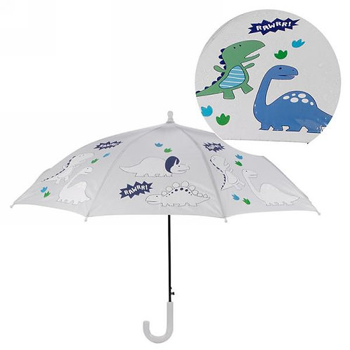 Colour Changing Umbrella - Dinosaurs