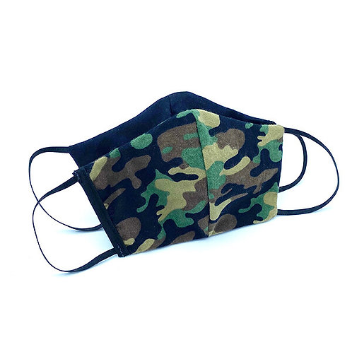 Hides in Hand Reversible & Reusable Protective Mask - Camo