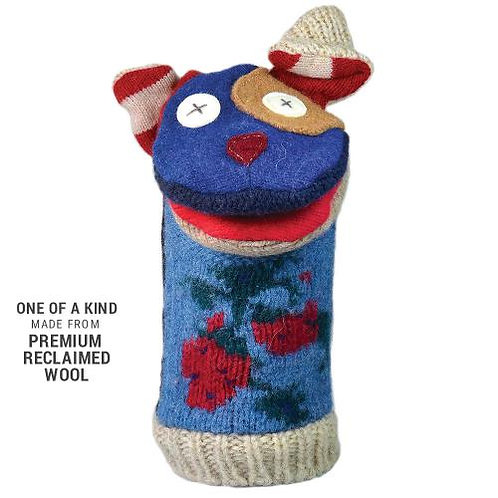 Woolly Dog Hand Puppet