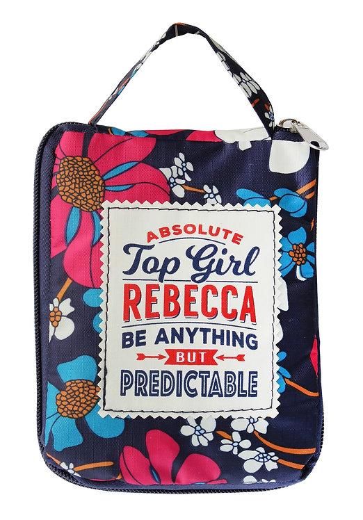 Fab Girl Reusable Tote Bag - Rebecca