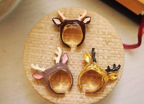 Reindeer Headband Ring