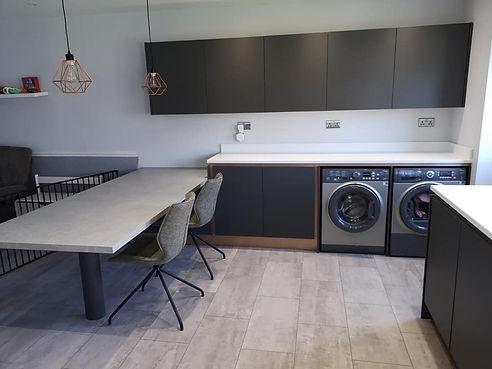 Super matte kitchen installation