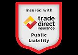 Public liability badge