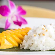 Sweet Rice With Mango