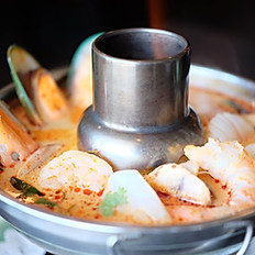Tom Yum Deluxe Seafood HotPot(32oz.)