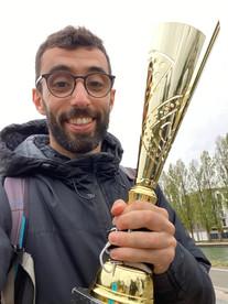 Retour en arrière avec la victoire de Kevin et ses équipiers au relais du canal de l'Ourcq à Bobigny
