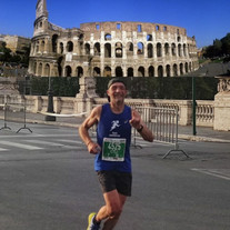 Dimanche dernier, Lionel sur le marathon de Rome...