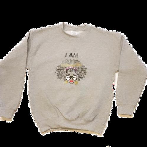 I AM Girl Sweatshirt