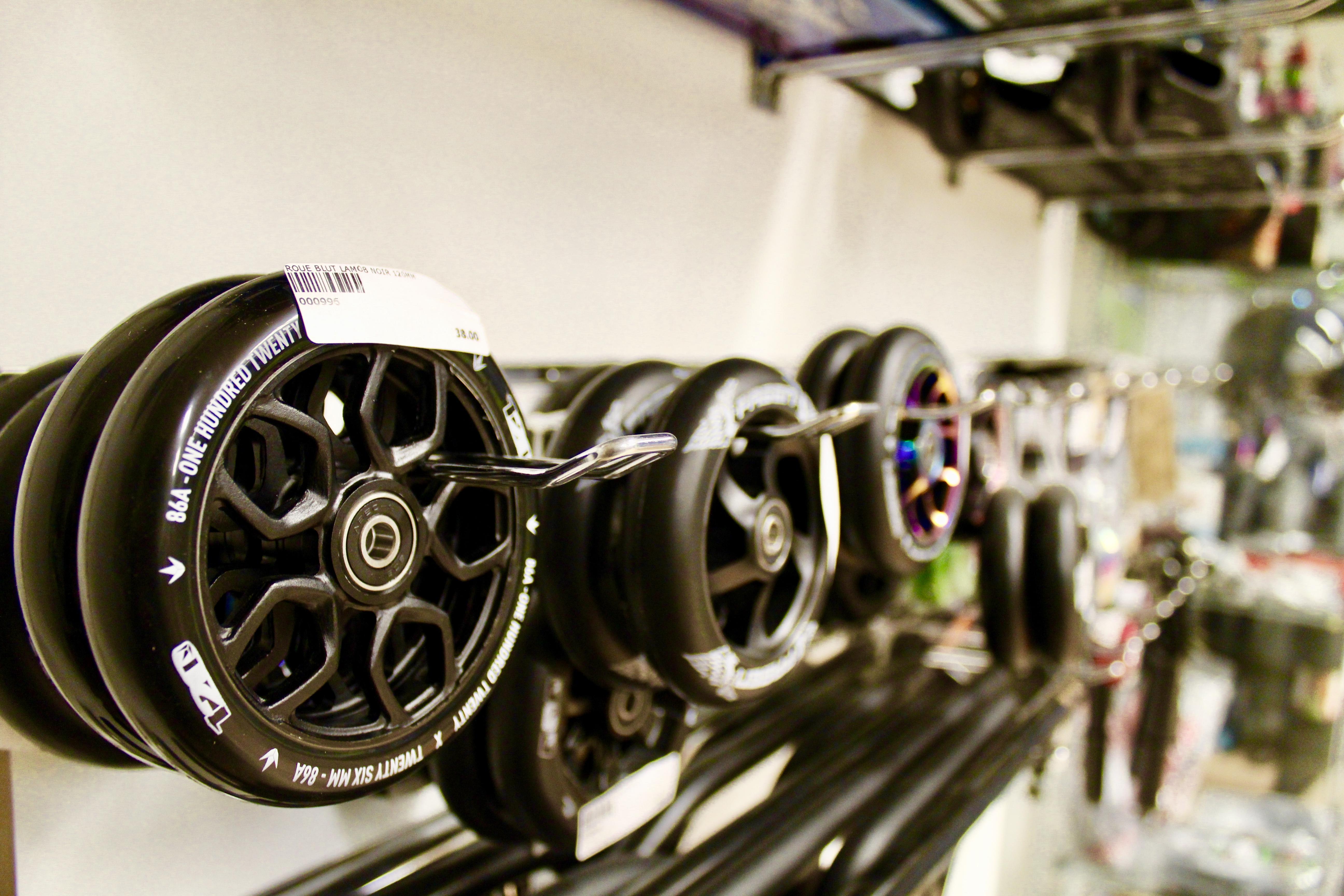 Les roues de trotinettes