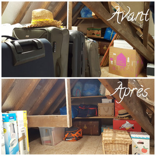 Grenier AVANT/APRES