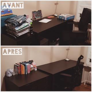 Bureau AVANT/APRES