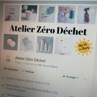 Mes Ateliers Zéro Déchet !